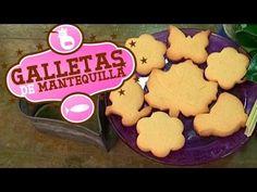 Receta: Galletas de mantequilla caseras - Receta fácil - YouTube