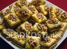 Christmas Candy, Christmas Baking, Christmas Cookies, Cooking Tips, Cooking Recipes, Czech Recipes, Desert Recipes, Sweet Recipes, Waffles