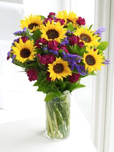 Mini Sunflower Hand-tied - Interflora