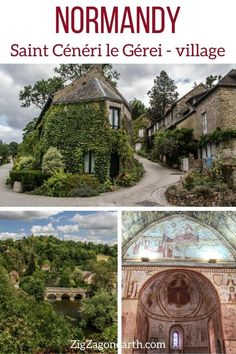 Photos and visit tips for the charming village of Saint-Cénéri-le-Gérei in Normandy - old houses, church, bridge, panorama... -- Normandy Travel Tips | Normandy things to do | Normandy Itinerary | Normandy Trip | Normandy Photography | Normandy, France | #Normandy #France