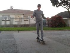 Life is like a skatepark, so ride it