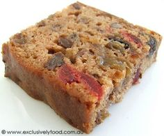 Exclusively Food: Easy Fruit Cake Recipe