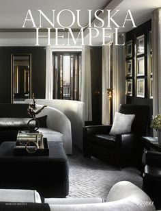 Hempel's Knightsbridge home This fall British interior designer Anouska Hempel published a beautiful collection of her rooms-her h. Architectural Digest, Interior Design Books, Book Design, Furniture Design, Coffee Table Books, Belle Photo, Kelly Wearstler, Design Inspiration, Interior Inspiration