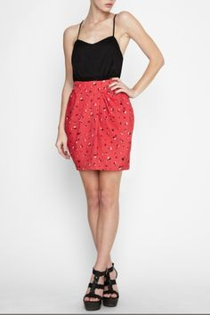 BCBGeneration wrap skirt dress - $118