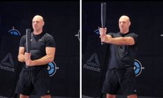 Pressing an unstable object like the club far away from the body makes the Steel Club Flag Press a very challenging core exercise. Core, Flag, Training, Exercise, Steel, Baseball Cards, Workout, Fitness, Sports
