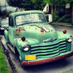 Old Chevy Truck #Portland #wickedquick #chevy