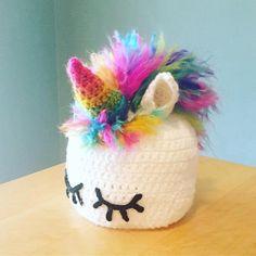 Unicorn Crochet Pattern Unicorn Hat Unicorn Crochet Hat PDF