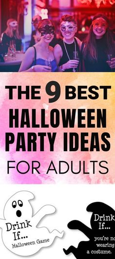 Best Halloween Party Ideas for Adults that are fun and cheap | #halloweenparty #halloweenpartyideas #halloween