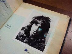 Keith Richards 1973 passport