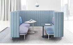 ophelis sum ist ein neues modulares Sitzmöbel zur Gestaltung von Inseln im Raum.