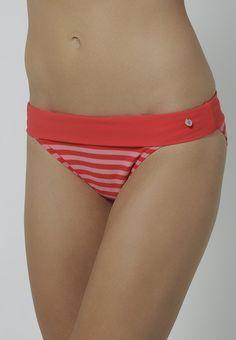 ¡Cómpralo ya!. Marc O'Polo STRIPES Parte de abajo bikini coral red.  , bikini, bikini, biquini, conjuntosdebikinis, twopiece, trisuit. Bikini  de mujer color rojo de Marc o'polo.
