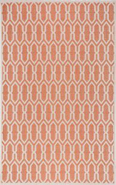 Coralie Orange Indoor/Outdoor Area Rug
