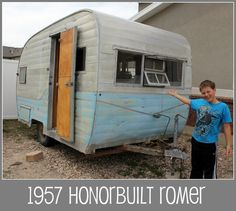 Family restores vintage trailer; great blog. Thanks Rachael!