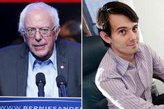 Bernie Sanders rejects CEO Martin Shkreli's campaign donation - The Boston Globe