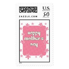 Happy Mother's Day Postage #mothersday #postage #stamps