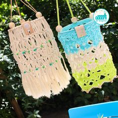 Crochet lampoon garden