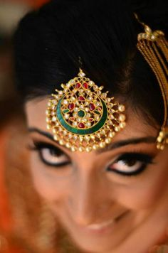 Bridal jewellery Maang tikka #Indian #Jewellery