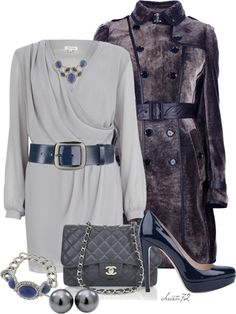 """""""Wrap Dress"""" by christa72 ❤ liked on Polyvore"""