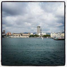 Barcelona Port Vell #landscape #port #sea #bcn
