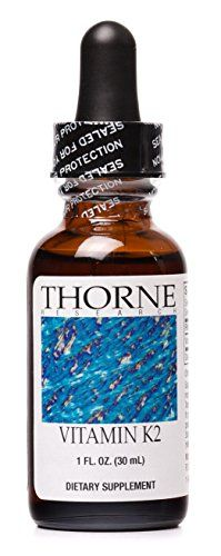 Thorne Research - Vitamin K2 Liquid (1 mg/drop) - Concentrated Vitamin K2 Supplement - 30 ml *** You can get more details by clicking on the image.