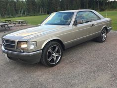 Mercedes-Benz S-Klasse SEC 420, rustfri 1987, 233 000 km, kr 72 538,-