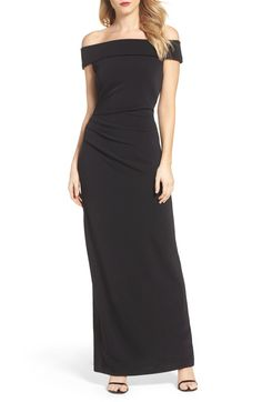 c3b7dbeb729 Main Image - Vince Camuto Off the Shoulder Gown Off Shoulder Gown