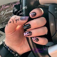 Fancy Nails, Pink Nails, Pretty Nails, Clear Nails, Nail Polish Strips, Color Street Nails, Beautiful Nail Designs, Accent Nails, Toe Nails