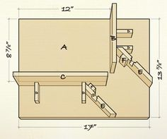 Great jig if you have a biscuit joiner. It holds the frame in position to cut reinforcing corner splines.