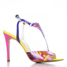 by alexandru Imprimeu multicolor Shoes 2015, Ss 15, Spring Summer, Heels, Fashion, Sandals, Moda, Shoes Heels, Fasion