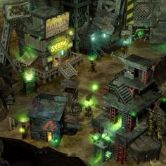 Sector 7 Slums, Midgar. Final Fantasy VII