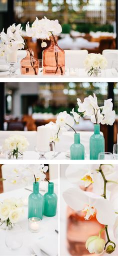 #babyshower | #orchids | coral and aqua | baby shower | fig and olive | Andrea Patricia Photography