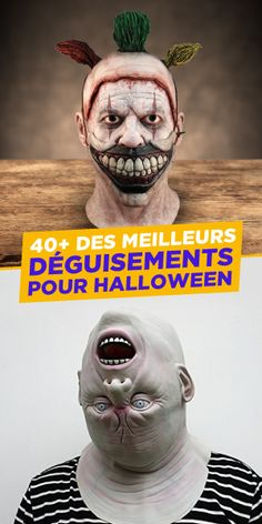 Cette année, tu veux faire peur et être le roi ou la reine de la soirée parce que ton déguisement déchire? Trouve-le dès maintenant. #Halloween #Déguisement Joker, Fictional Characters, King, Event Posters, The Joker, Fantasy Characters, Jokers, Comedians