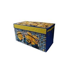 Minions Oversized Soft Collapsible Storage Trunk, Multicolor
