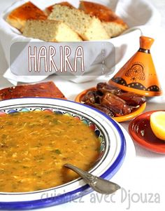 Soupe harira marocaine traditiionnelle