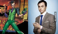 Perfect Casting: Jim Parsons wants to be the Riddler Superman, Batman, Jim Parsons, Riddler, Cartoon Tv, Bat Family, Marvel Vs, Nerd Geek, Just For Fun