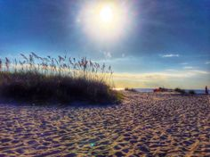 A beach vacation in lowcountry.