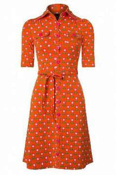 """51 jurken gevonden met """"tante betsy betsy bloms dress in orange"""" Dresses For Work, Retro, Fashion, Moda, Fashion Styles, Retro Illustration, Fashion Illustrations"""