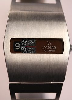 1970s Damas Auto Mechanical Digital - Vintage Watch