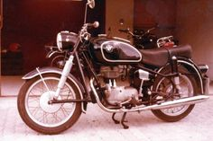 BMW R26, Germany. 1980. This motorcycle was originally build in 1957. I had the engine rebuilt and the bike repainted.