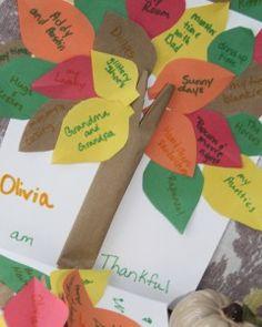 thankful tree kids craft