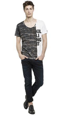 T-shirt with KILLING IT print