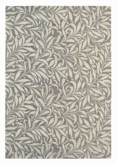 Morris & Co Willow Bough Granite 28305 hand-tufted rugs made with Wool. Available today as part of our price-match promise. William Morris, All Modern Rugs, Willow Leaf, Hand Tufted Rugs, Leaf Design, Floral Design, Unique Colors, Mole, Colorful Rugs