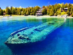 25 Eeriest Shipwrecks in the World - Ontario