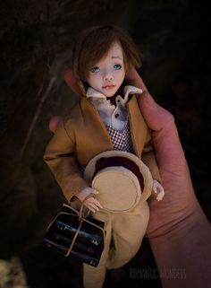 Oliver was sculpted of polymer clay with strong steel armature inside. All clothes (two sets) were sewed by the hand of cotton,linen and silk fabrics, shoes were sewed of real leather, hair was made of mohair. Ooak Dolls, Art Dolls, Oliver Twist, Boys Who, Silk Fabric, Handicraft, Cotton Linen, Real Leather, Leather Backpack