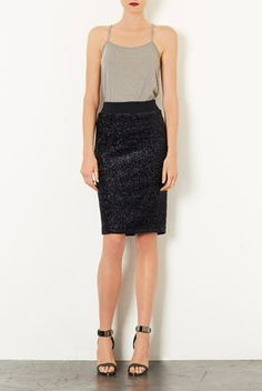 Wear with a sweater or blazer to make your day look more interesting - I have this skirt and you will love it (and it's now on sale too!)