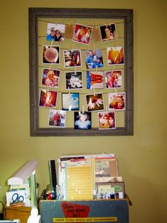Home / DIY: Thrifted Frame Photo Display - CotCozy