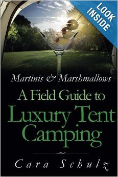 New glamping book. 120 pages of tips, ideas, tutorials, and recipes to make camping more comfortable.
