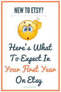 your first year as an Etsy seller