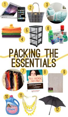 Harper Honey: Packing for My Summer Internship (with a deal from Residence Hall Linens!)