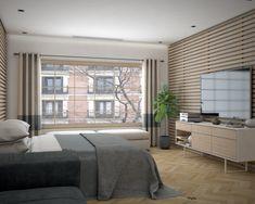 Proyecto de interiorismo en 3D, dormitorio principal con baño. Freelance 3D Madrid 01 alfonsoperezalvarez.com